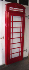 K6 Telephone Box Fascia